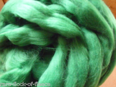 Dyed Merino Wool Roving Forest Ideal Spinning Felting Dreads Fibre Art
