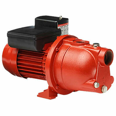 Red Lion RL-SWJ50 - 10 GPM 1/2 HP Cast Iron Shallow Well Jet Pump