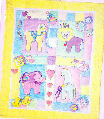 Baby Safari Quilt - cute applique & pieces quilt PATTERN - Bobbie G