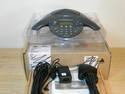 NEU Cisco IP Conference Station CP-7936 VoIP IP Phone + CP-7936-PWR-KIT NEW OPEN