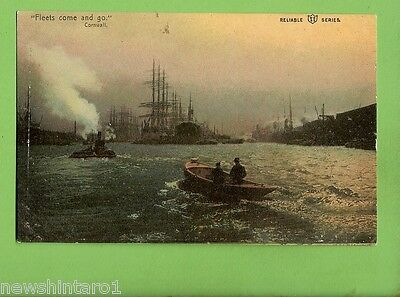 #G.    Shipping Postcard -   Fleets Come And Go