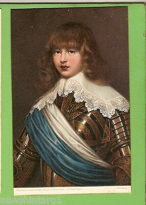 #g.  Art   Postcard - Son Of Frederick Iii Of Denmark, Substermans