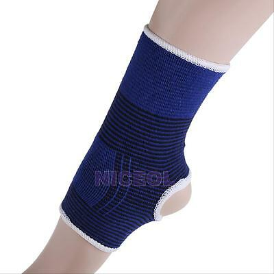 2Pcs Elastic Ankle Brace Support Pad Guard Achilles Tendon Strap Foot Protector