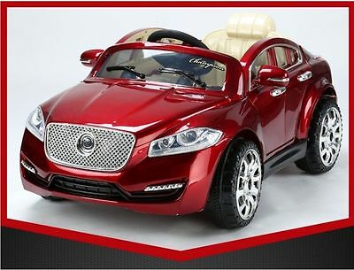 New Amazing Jaguar Style Ride On Car Real Paint!! Look!