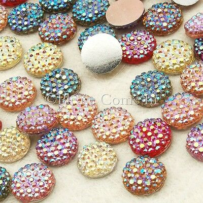 650 Icy Rhinestones Scrapbooking 8mm Mixed
