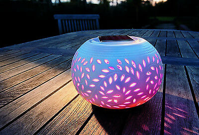 Solar Light Lantern Lamp Garden Outdoor Patio Pathway Yard Night Wireless NEW
