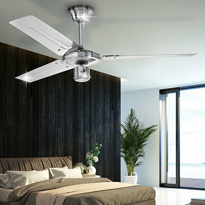 rgb led decken ventilator mit fernbedienung leuchte raum k hler w rmer dimmbar eur 88 80. Black Bedroom Furniture Sets. Home Design Ideas