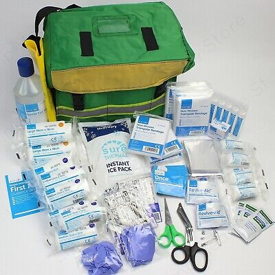 First Response Complete Emergency Medical First Aid Kit in Water Resistant Bag