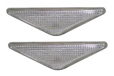 For Ford Mondeo MK3 2000 - 2007 Clear Side Repeaters Indicators 1 Pair