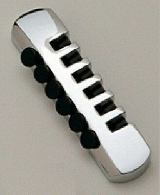 NEW - Schaller Stop Tailpiece, Fine Tuners, CHROME