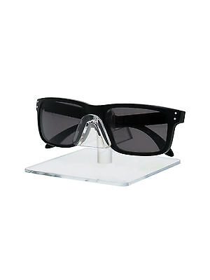 Single Tier Sunglasses Eyeglasses Square display stand Clear Acrylic