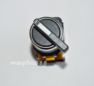 1pcs Rotary Three Position Selector Switch