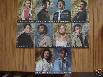 Heroes Season One: Foil Cards: Complete Set Of 10