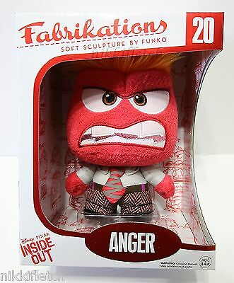 Disney Pixar Inside Out Anger FUNKO Fabrikations Figure