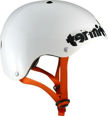 TERMITE YOUTH SKATE HELMET JR SM-WHITE eps foam