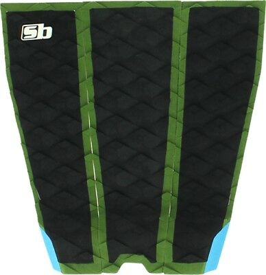 Sticky Bumps Williams Grom Surfboard Traction Pad Green Blk