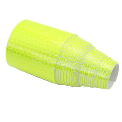 3m Fluorescence Yellow Reflective Safety Warning Conspicuity Tape Sticker Roll
