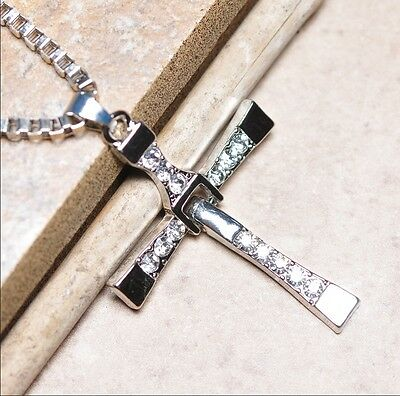 Fast and Furious Vin Diesel Dominic Toretto's Cross Pendant Necklace