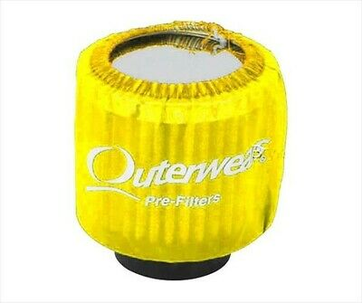 Outerwear Yellow NONShielded Breather Pre Filter Dirt Racing UMP IMCA Outer Wear