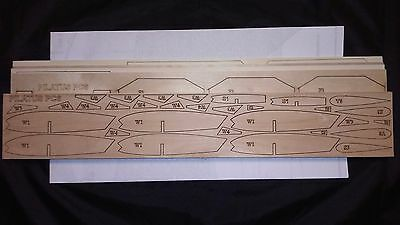 1/8 Scale PILATUS PC6 PORTER Laser Cut Short Kit & Plans 75 in. wingspan