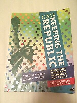 California politics + keeping the republic, 6th ed. , brief +.