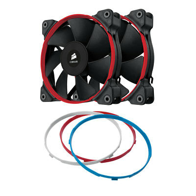 Corsair SP120 Quiet Edition 12cm 120mm PC Case Fan  - Twin Pack CO-9050006-WW