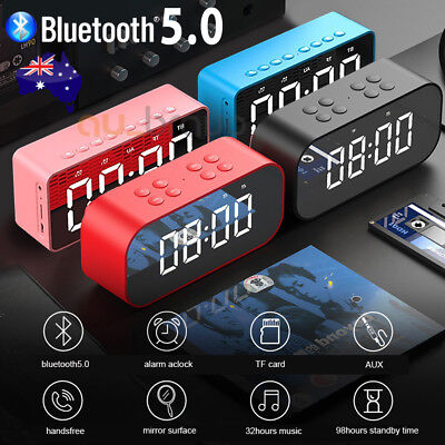 Portable Mini Bluetooth Wireless AUX Stereo Music Speaker HiFi Speakerphone