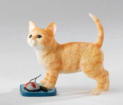Country Artists Kitten with Mouse  Figurine 14293 NEW IN BOX