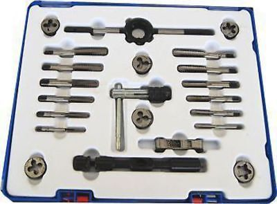 Soba 22pc BSW Tap & Die Set for Model Engineers Classic Cars Whitworth Thread