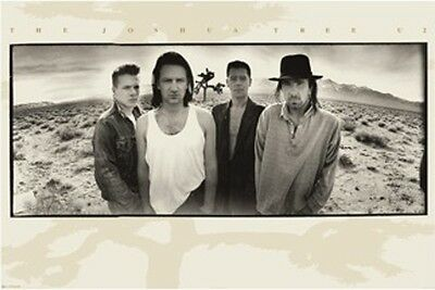 "U2 POSTER ""The Joshua Tree Album Cover Art, Bono Edge"" NEW Licensed"