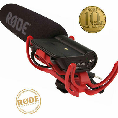 Rode Videomic DVcam Directional Condenser Mic with Rycote Shock Mount