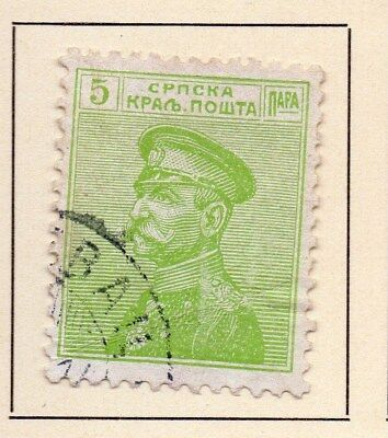 Serbia 1913 Early Issue Fine Used 5p. 147579