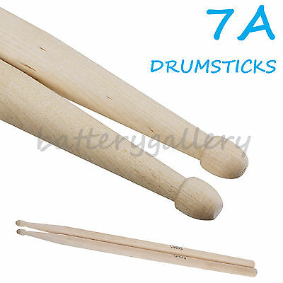New A Pair 7A Music Band Maple Wood Drum Sticks Drumsticks