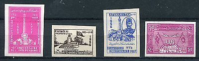 Rare Lot Of Early Mperf Stamps From Afghanistan!