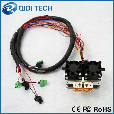 QIDI TECHNOLOGY dual extruder 3d printer high speed and high quality