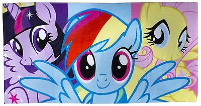 My Little Pony Dash Beach Bath Towel Kids Girls Character Swimming & Holiday