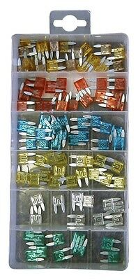 Assorted Auto Micro Blade Fuses x 100 PXP101 Pearl Genuine Top Quality New