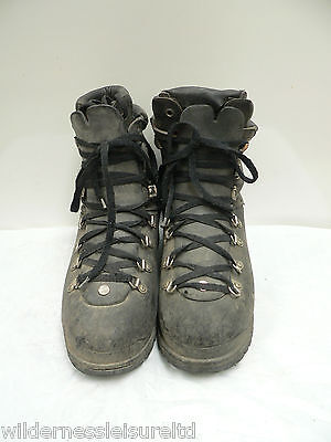 French Military Extreme Winter Boots Leather Tops All Sizes Used  Army Surplus