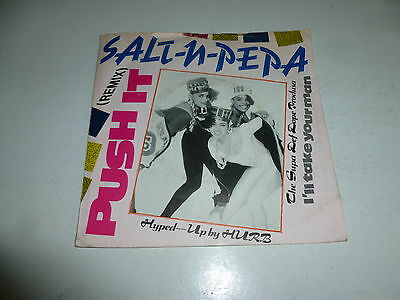 "SALT N PEPA - Push It (Remix) - 1988 USA 2-track 7"" Juke Box Single"