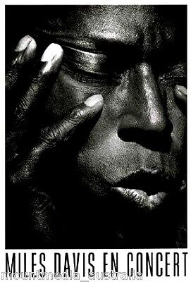 "Miles Davis POSTER ""In Concert, Jazz Musician, Music"" BRAND NEW Licensed Art"
