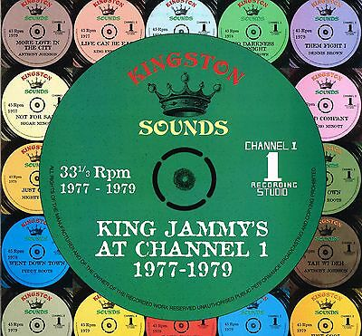 kingston sounds LP : VARIOUS-king jammy's at channel 1, 1977-1979 (hear)