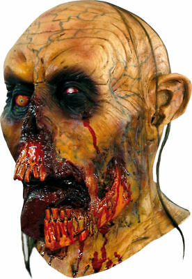 Morris Costumes Adult Unisex Over The Head Latex Zombie Tongue Mask. TA480