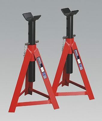 Sealey AS5000M - Axle Stands (Pair) 5tonne Capacity per Stand Medium Height