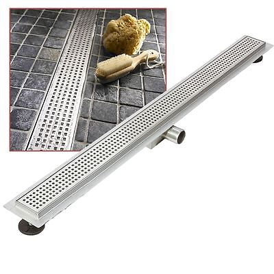 """1800mm Stainless Steel Long """"Rectangular"""" Wetroom / Shower Drainage System"""