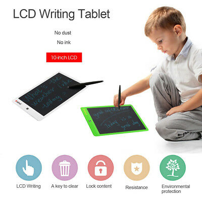 10 Inch Electronic Drawing LCD Writing Pad Notepad Graphics Board Tablet + Pen