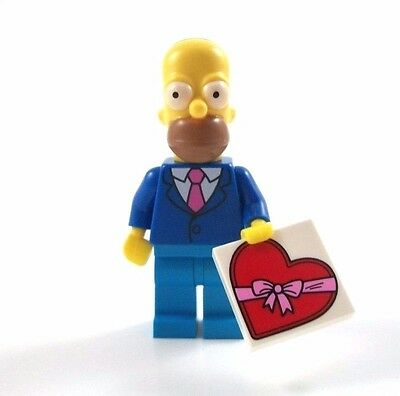 NEW LEGO 71009 MINIFIGURES SERIES Simpons Series 2 - Homer in a Suit and Tie