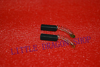 1 PAIR Carbon Brushes 5mm x 6mm x 20mm for Generic Electric Motor A379