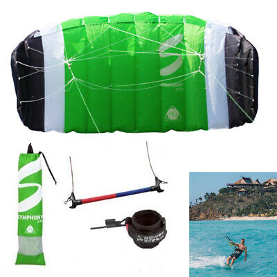 Trainer HQ Kites Symphony TR II 1.7 With Bar & Lines Land Or Water Learn To Kite