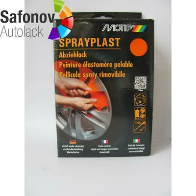 MOTIP Sprayplast orange glänzend Set 2x400 ml 396632