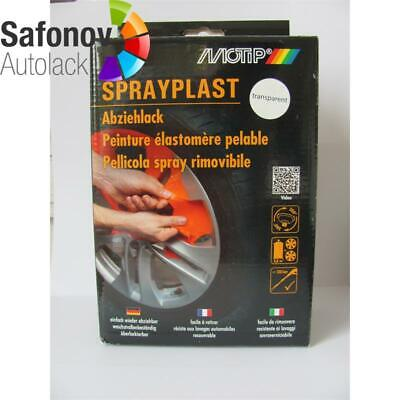 MOTIP Sprayplast transparent glänzend Set 2x400 ml 396649